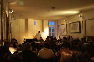 Foto do segundo Café Filosófico no CLP - 28 de Dezembro de 2008